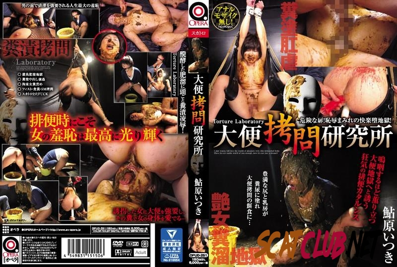 OPUD-251 Torture laboratory hard extreme scatology rape Ayuhara Itsuki [2018 | 7.51 GB] (292.1835_OPUD-251_sample | HD)