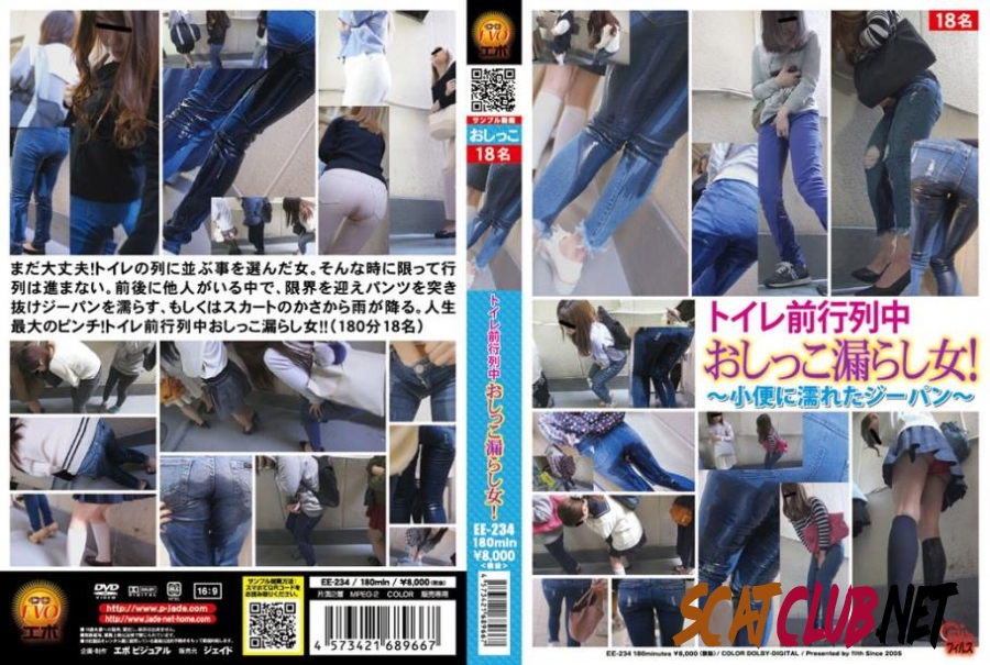EE-234 Piss in Jeans Accident on Public ~小便に濡れたジーパン~ [2018 | 1.79 GB] (090.0674_EE-234 | FullHD)