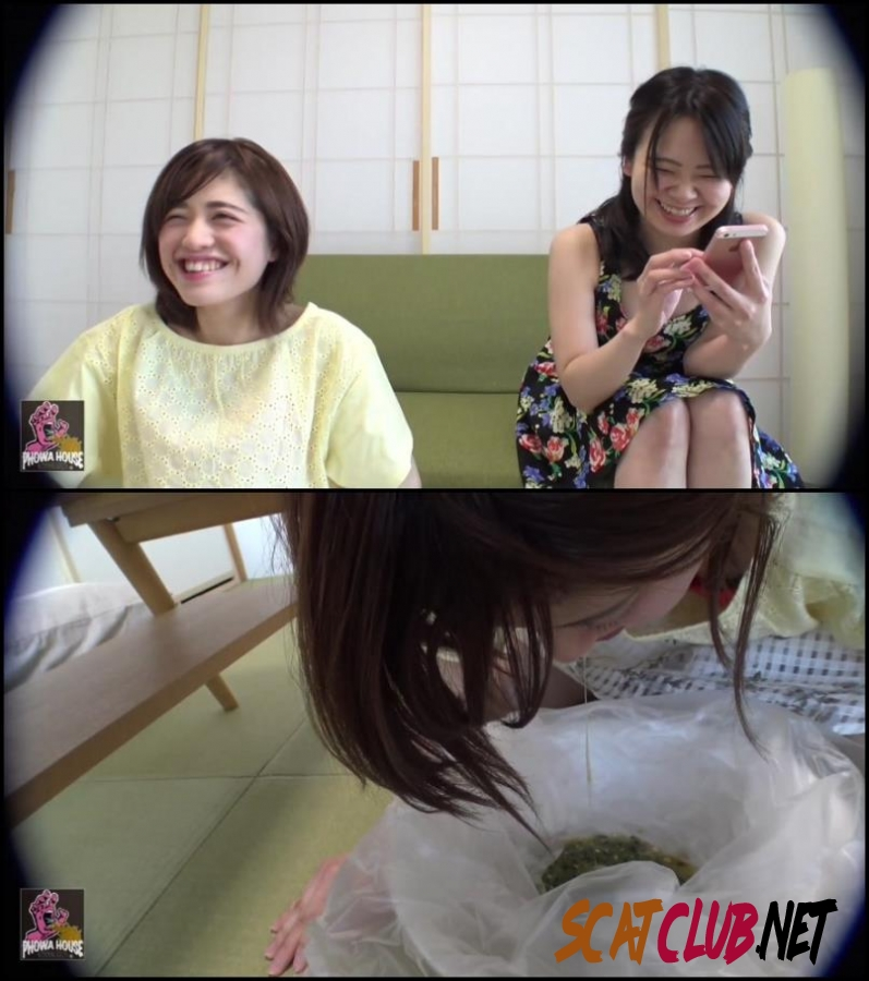 BFJV-12 Girls Puking Together スローアップ女の子 Forced Vomit [2018 | 962 MB] (080.0641_BFJV-12 | FullHD)