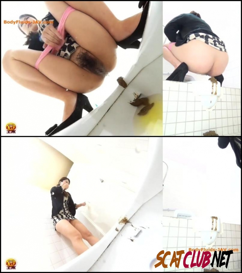 BFEE-25 Girl defecates past the toilet and clean toilet of feces [2018 | 217 MB] (105.2153_BFEE-25 | FullHD)