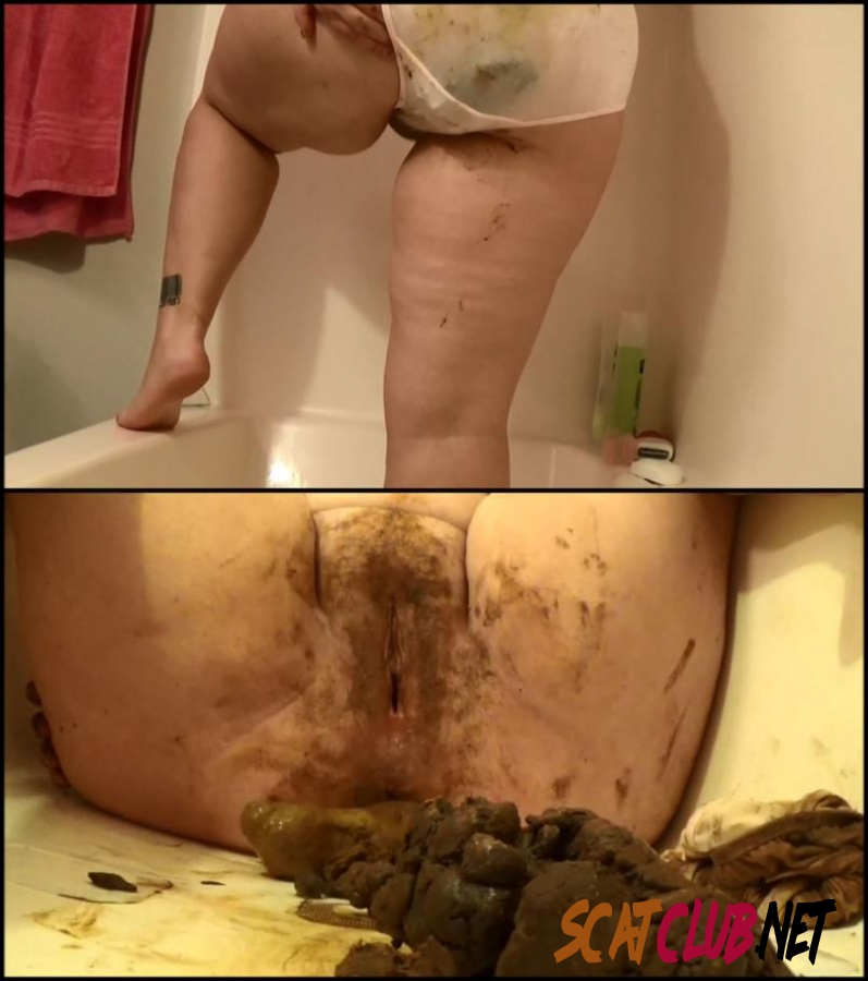 [Special #579] BBW Samantha poop in satin panties and dirty scat play [2018 | 1.58 GB] (179.579_BFSpec-579 | FullHD)