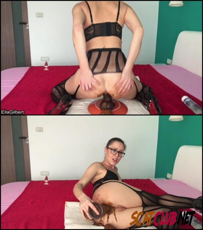 [Special #575] Ella Gilbert in black stokings hard fucked her dirty anal hole [2018 | 981 MB] (182.575_BFSpec-575 | FullHD)