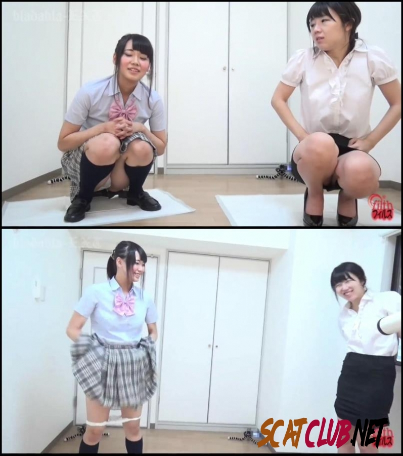 BFFF-89 Enema competition between schoolgirl and office lady [2018 | 1.65 GB] (001.1762_BFFF-89 | FullHD)