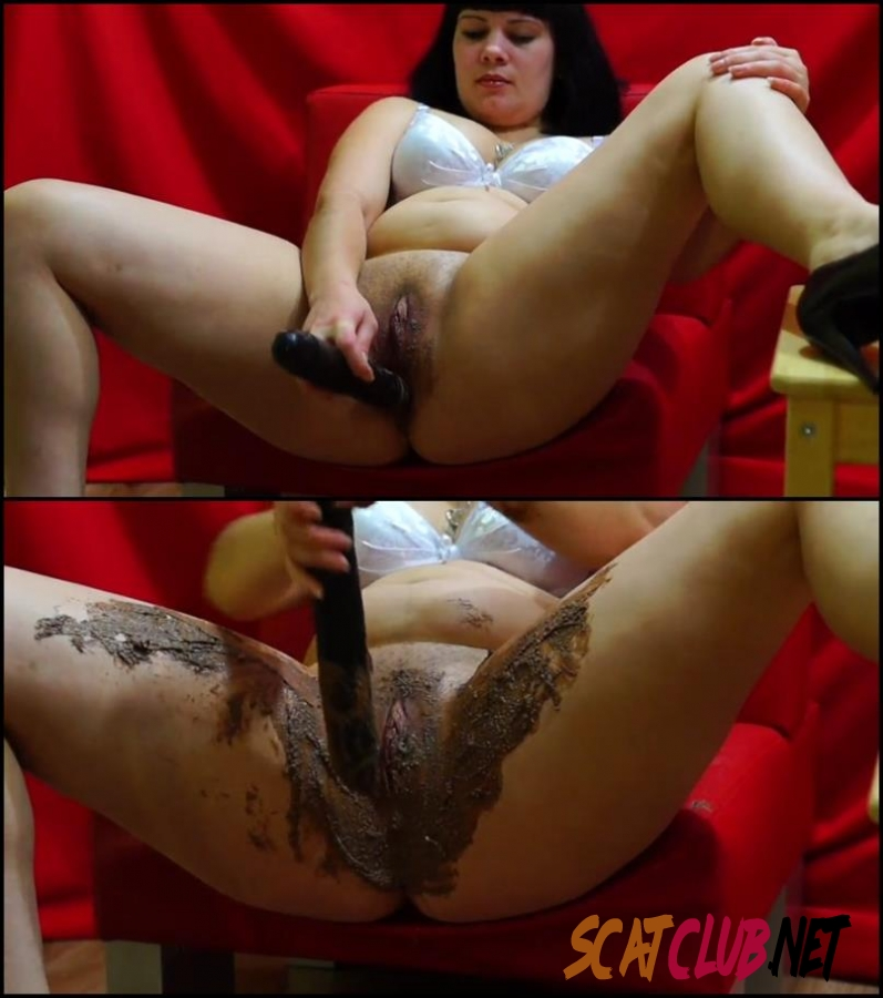 [Special #189] BBW girl anal masturbation with shit [2018 | 382 MB] (079.0189_BFSpec-189 | FullHD)