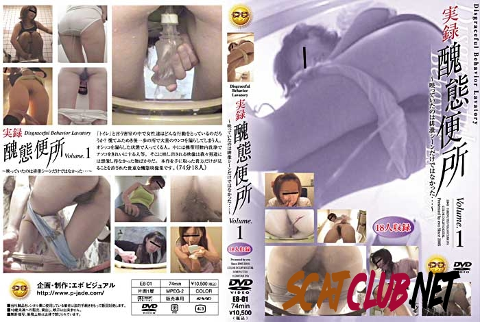 E8-01 Defecation 実録 Accident in panty 醜態便所 Abominable Toilet [2018 | 900 MB] (4.1184_E8-01 | SD)