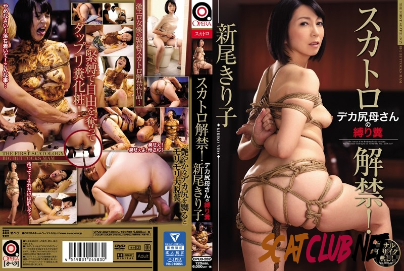 OPUD-282 Torture Scat スカトロ解禁!デカ尻母さんの縛り糞 Mother 母親 Incest [2018 | 3.87 GB] (4.1215_OPUD-282 | HD)