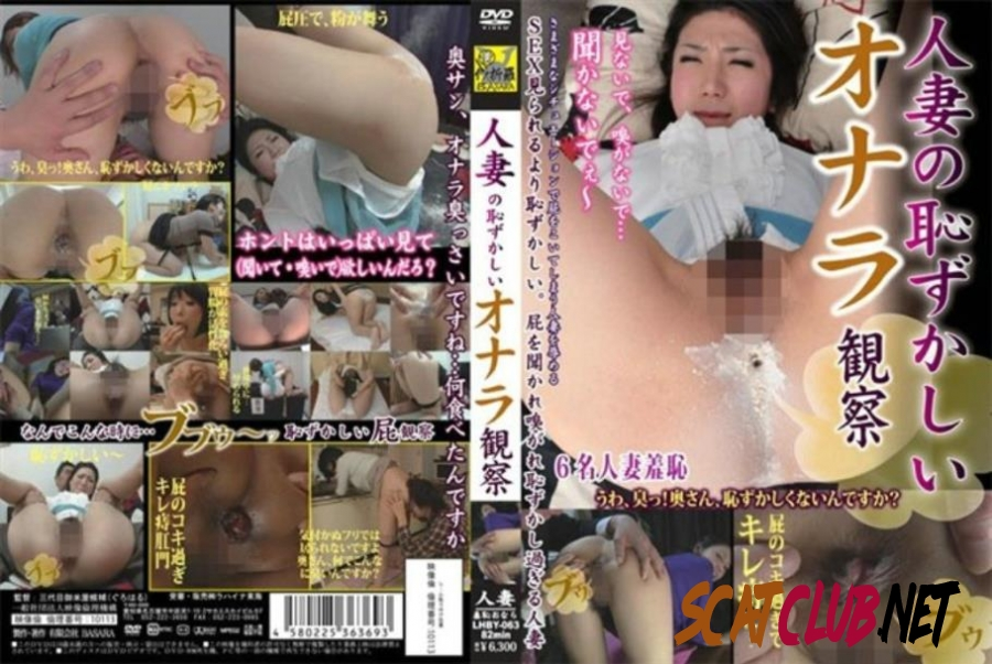 LHBY-063 Married Observation Embarrassing Fart 結婚観測恥ずかしいおなら [2020 | 580 MB] (1.2684_LHBY-063 | SD)