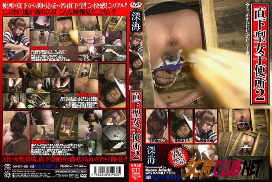 VRXS-011 二人の女性のトイレ震源地 Two Women's Toilet Epicentral [2020 | 1.00 GB] (2.3713_VRXS-011 | SD)